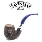 Savinelli - Eleganza 614 - Brownblast  - 6mm Filter Pipe