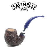 Savinelli - Eleganza 614 - Brownblast  - 9mm Filter Pipe