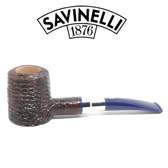 Savinelli - Eleganza 310 - Sandblast - 9mm Filter Pipe