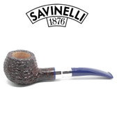 Savinelli - Eleganza 315 - Brownblast  - 9mm Filter Pipe