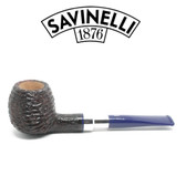 Savinelli - Eleganza 207 - Brownblast - 6mm Filter Pipe