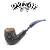 Savinelli - Eleganza 606 - Brownblast  - 6mm Filter Pipe