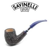 Savinelli - Eleganza 606 - Brownblast  - 9mm Filter Pipe