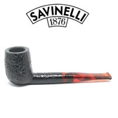 Savinelli - Cocktail 128 - Red Stem  - 9mm Filter Pipe