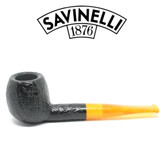 Savinelli - Cocktail 207 - Yellow Stem  - 9mm Filter Pipe
