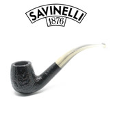 Savinelli - Cocktail 614 - Horn Style Stem  - 9mm Filter Pipe