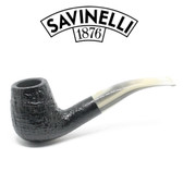 Savinelli - Cocktail 628 - Horn Style Stem  - 9mm Filter Pipe
