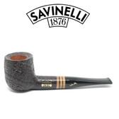 Savinelli - Collection Sandblast Black 2020  - 9mm