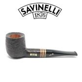 Savinelli - Collection Sandblast Black 2020  - 6mm