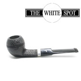 Alfred Dunhill - Shell Briar - 3 204 - Group 3 - Bulldog with Silver Band - White Spot