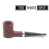 Alfred Dunhill - Ruby Bark - 3 122 - Poker - Group 3 -  White Spot - Silver Band