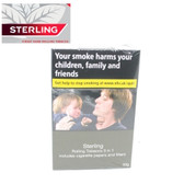 Sterling  - Hand Rolling Tobacco - 3 in 1 - 30g Box