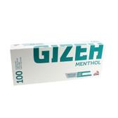 Gizeh - Menthol King Size Cigarette Tubes - Box of 100