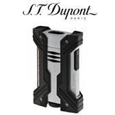 S.T. Dupont - Defi XXtreme - Black & Chrome - Double Jet Torch Lighter