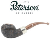 Peterson - Derry Rustic 999 - 9mm Filter Bent Bulldog Pipe