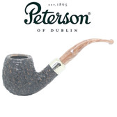 Peterson - Derry Rustic 68 - 9mm Filter Bent Billiard Pipe