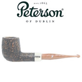 Peterson - Derry Rustic 06 - 9mm Filter Straight Billiard Pipe
