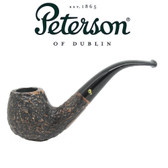 Peterson - Aran Rustic 68 - Bent Billiard Fishtail Mouthpiece Pipe