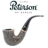 Peterson - Aran Rustic 05 - Bent Fishtail Mouthpiece Pipe