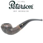 Peterson - Aran Rustic 999 - Bent Bulldog Fishtail Mouthpiece Pipe