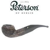 Peterson - Aran Rustic 80s - Bent Bulldog Fishtail Mouthpiece Pipe