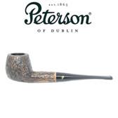 Peterson - Aran Rustic 86 - Straight Billiard Fishtail Mouthpiece Pipe