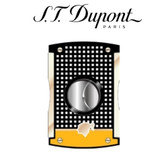 ST Dupont Cohiba Collection - MaxiJet Cigar Cutter Black & Yellow Lacquer