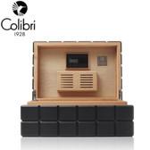 Colibri Heritage Humidor - 100 to 125 Cigar Capacity - Black