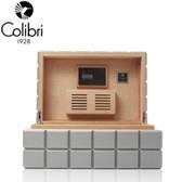 Colibri Heritage Humidor - 100 to 125 Cigar Capacity - Grey