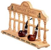 Peterson - 'Return of the Sherlock Holmes' - Sherlock Holmes Pipe Rack Stand