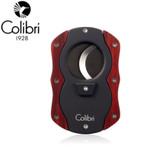 Colibri - Cutter Black & Red Burl Wood (62 Gauge)