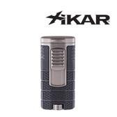 Xikar - Tactical - Triple Jet Flame Lighter - Black & Gunmetal