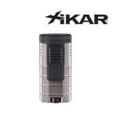 Xikar - Tactical - Triple Jet Flame Lighter - Gunmetal & Black