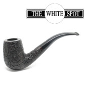Alfred Dunhill - Ring Grain - 6 102 - Group 4 - Bent - White Spot