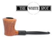 Alfred Dunhill - Straight Grain - 3 Star - White Spot pipe