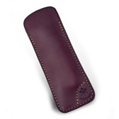 Les Fines Lames - Le Petit Leather Cigar Cutter Case - Burgundy