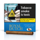 Ritmeester - Royal Dutch - Minatures Blue - Pack of 20 Cigars