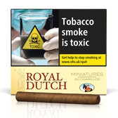 Ritmeester - Royal Dutch - Minatures Yellow - Pack of 20 Cigars