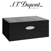 ST Dupont Cohiba Behike Collection - 50 Cigar Humidor - Okoume Wood Black Lacquer