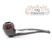 GQ Tobaccos - Truffle Briar - Semi Bent Bulldog Pipe