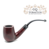 GQ Tobaccos - Auburn Briar - Bent Billiard Pipe (1)