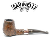 Savinelli -  Caramella Rusticated Pipe - 145 - 6mm Filter