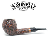 Savinelli -  Free Rusticated Brown - 01 Pipe - 6mm Filter