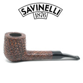 Savinelli -  Free Rusticated Brown - 05 Pipe - 6mm Filter