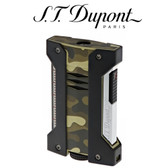 S.T. Dupont - Defi Extreme - Camo Green - Single Jet Torch Lighter