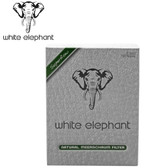 White Elephant - Natural Meerschaum Filters 9mm - 150 Filters in a Box