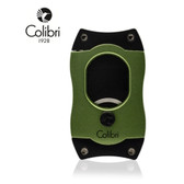 Colibri -  S Cut Cigar Cutter  - 66 Ring Gauge - Green with Black Blades