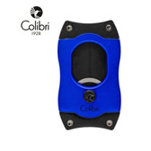 Colibri -  S Cut Cigar Cutter  - 66 Ring Gauge - Blue with Black Blades