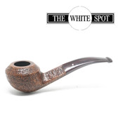 Copy of Alfred Dunhill - County - 3  108 - Group 3 - - Bent Bulldog - White Spot Pipe