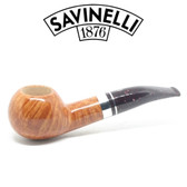 Savinelli - Bacco Smooth Natural - 321 Pipe - 9mm Filter